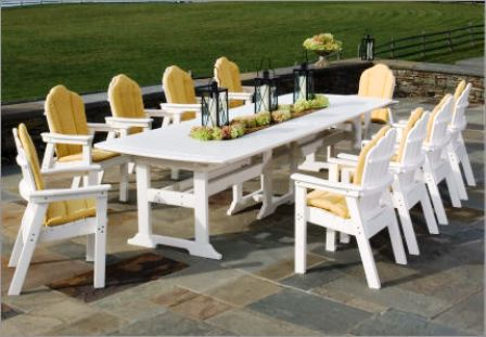 Stunning Grande Table De Jardin En Pvc Gallery - House ...