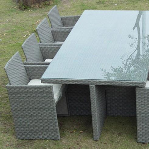 beautiful table de jardin resine gris anthracite pictures awesome interior home satellite. Black Bedroom Furniture Sets. Home Design Ideas
