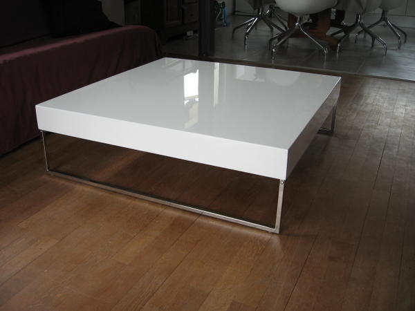 Table Basse Carrée Grande Dimension