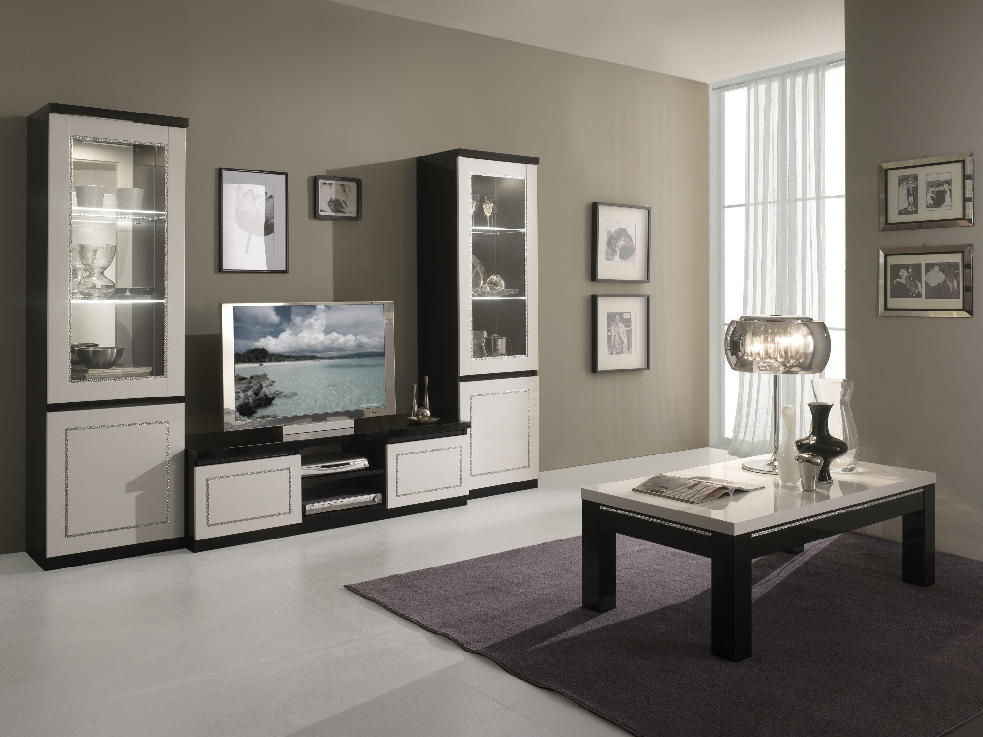 table de salon moderne blanc id es de d coration int rieure french decor. Black Bedroom Furniture Sets. Home Design Ideas