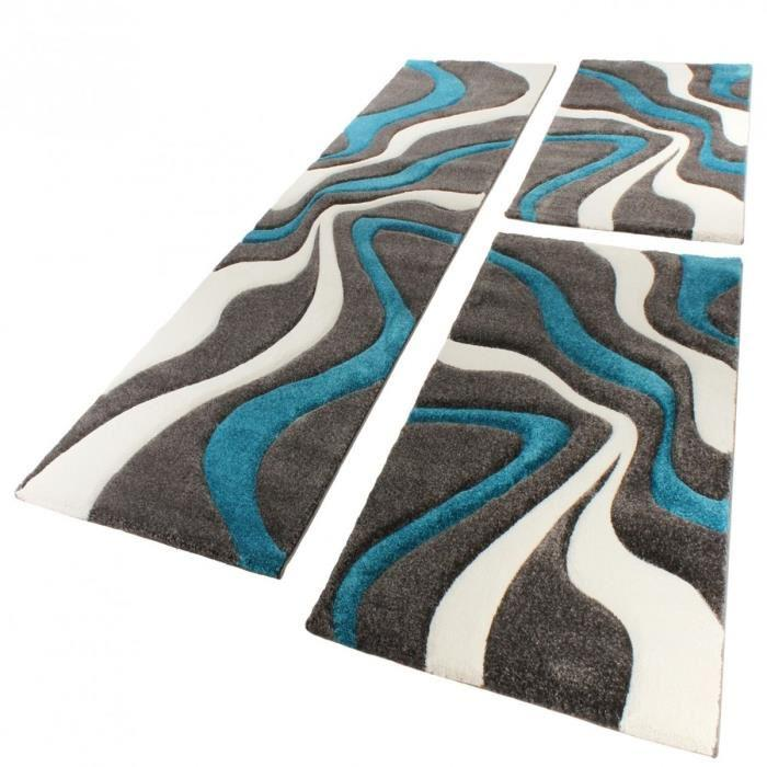 tapis blanc et bleu id es de d coration int rieure french decor. Black Bedroom Furniture Sets. Home Design Ideas