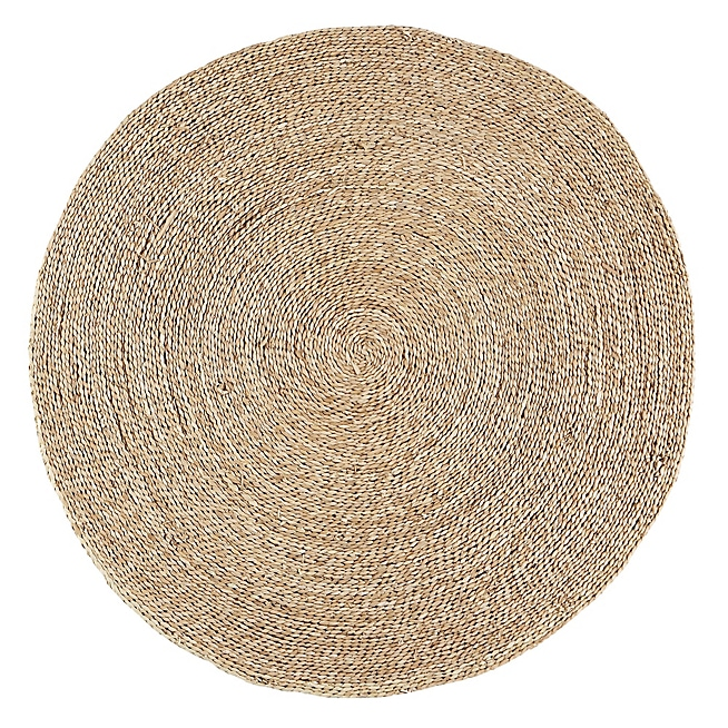 tapis coco rond