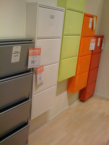 meuble pour chaussures ikea