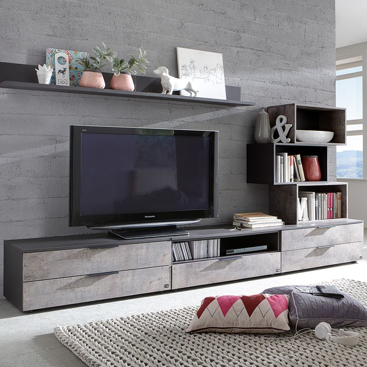 meuble tele moderne salon id es de d coration int rieure french decor. Black Bedroom Furniture Sets. Home Design Ideas
