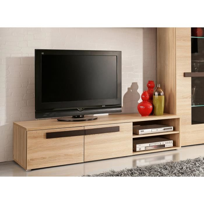 Meuble Tv Chene Clair Idees De Decoration Interieure French Decor