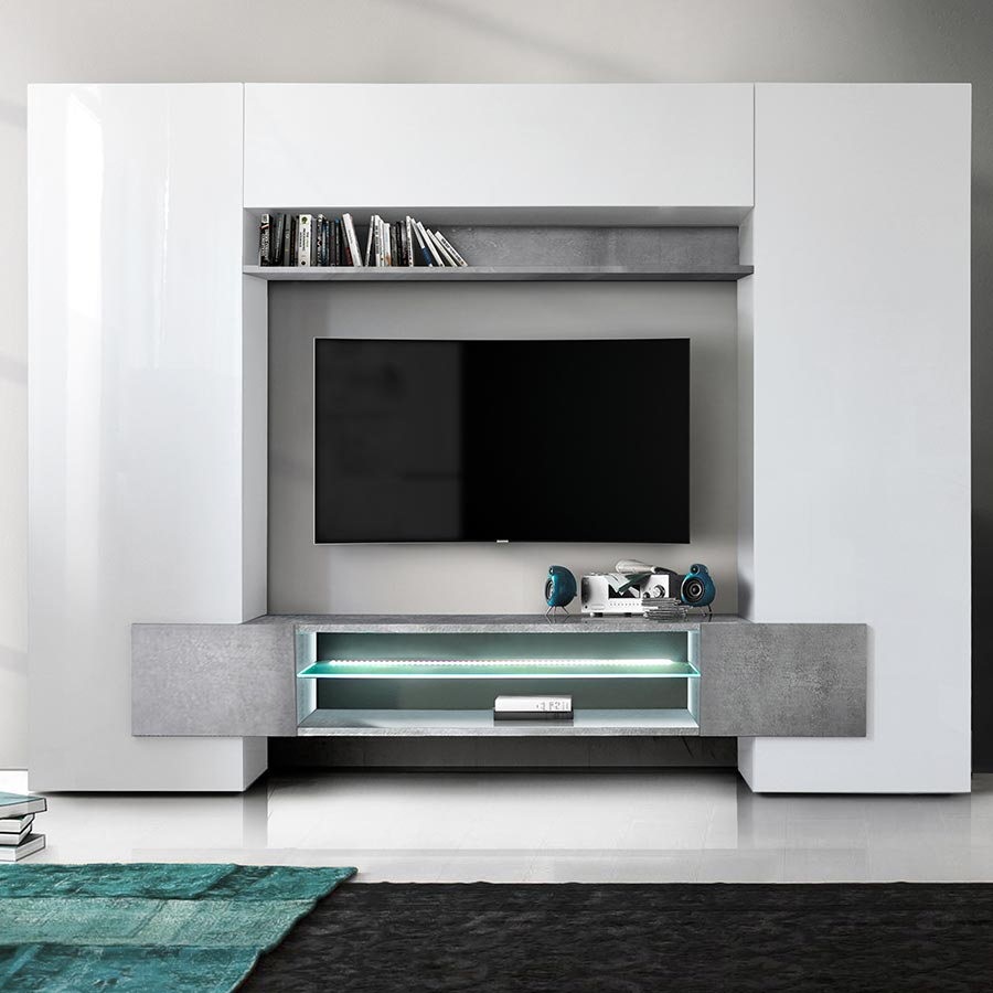meuble tv mural id es de d coration int rieure french decor. Black Bedroom Furniture Sets. Home Design Ideas