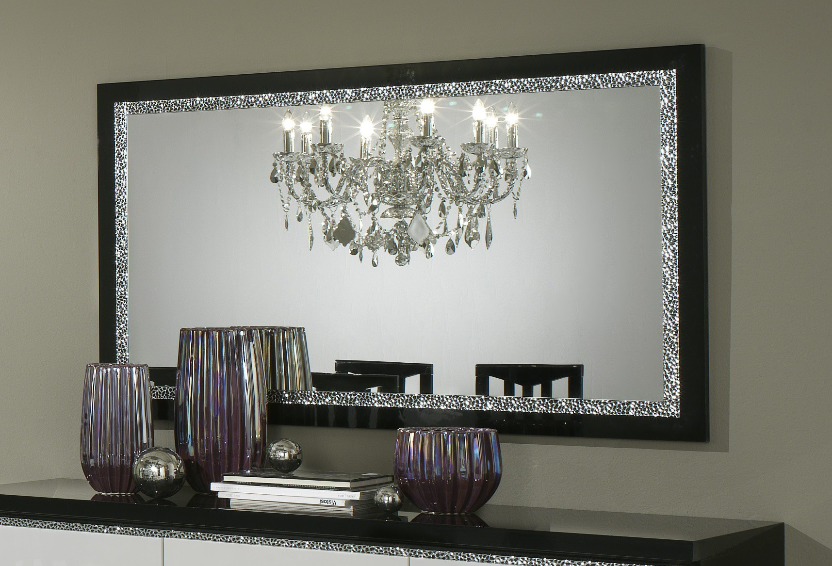 miroir de salon id es de d coration int rieure french. Black Bedroom Furniture Sets. Home Design Ideas