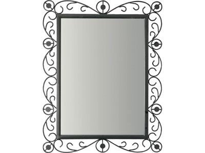 miroir fer forg rectangulaire id es de d coration int rieure french decor. Black Bedroom Furniture Sets. Home Design Ideas