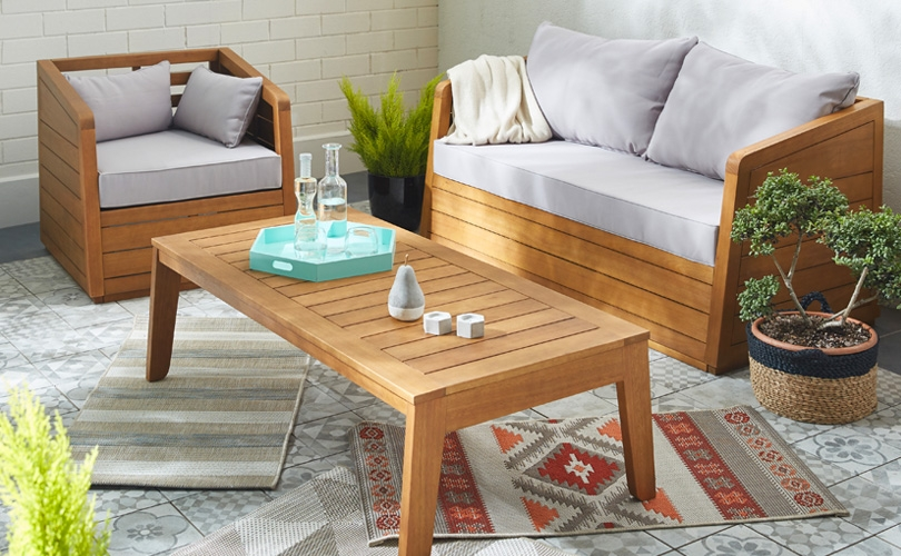 awesome table de jardin en bois exotique pictures awesome interior home satellite. Black Bedroom Furniture Sets. Home Design Ideas