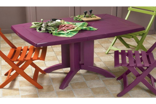 Awesome Table De Jardin Plastique De Couleur Ideas - House ...