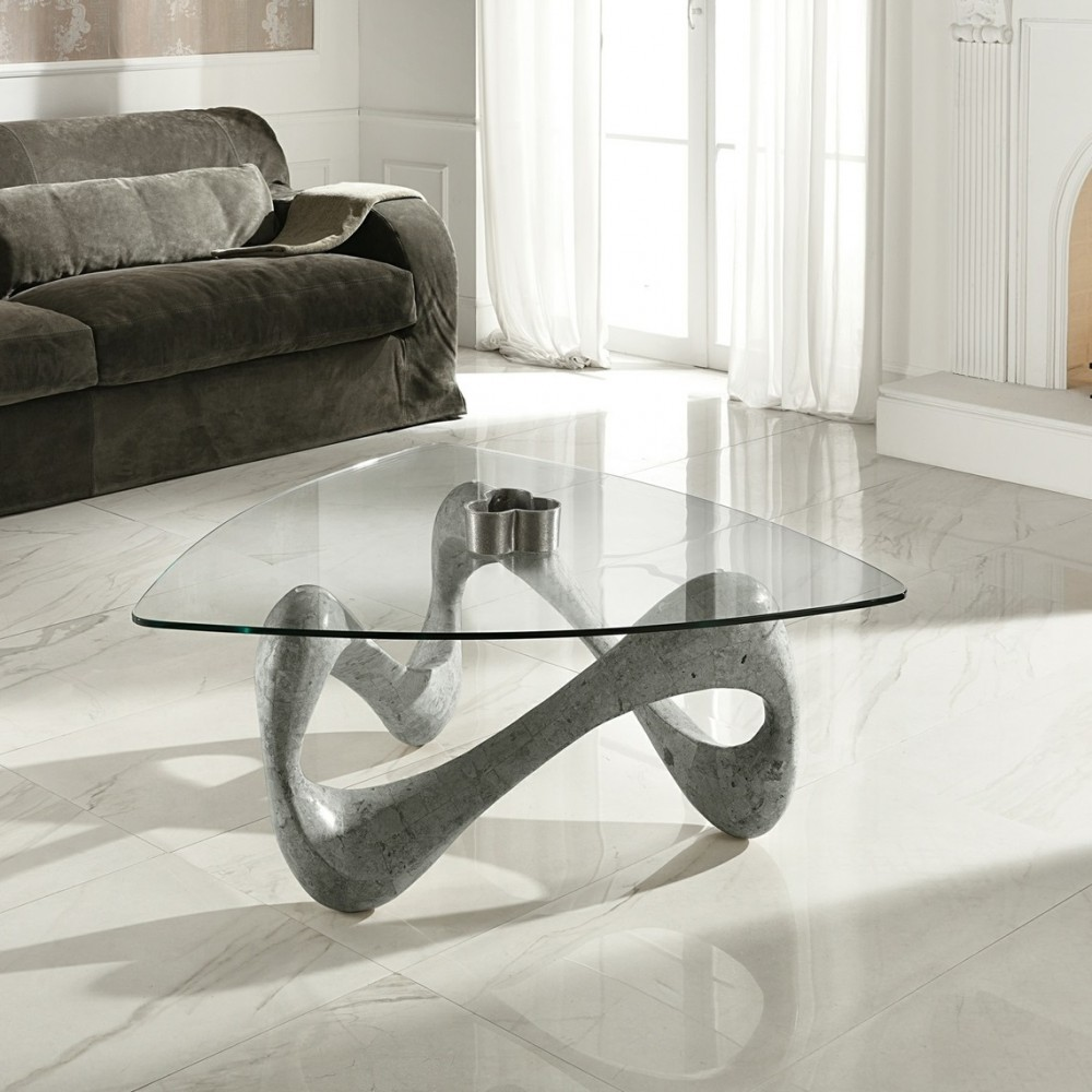 Table Basse En Verre Design Italien Tunkie