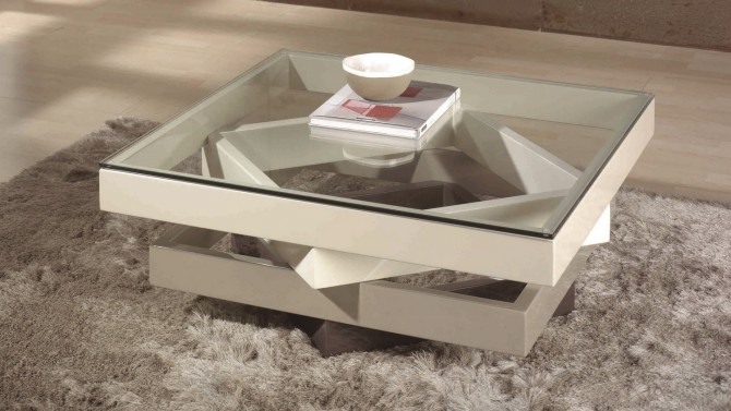 Table de salon moderne id es de d coration int rieure - Deco table de salon ...