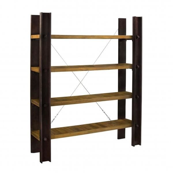 etagere bois metal pas cher id es de d coration. Black Bedroom Furniture Sets. Home Design Ideas
