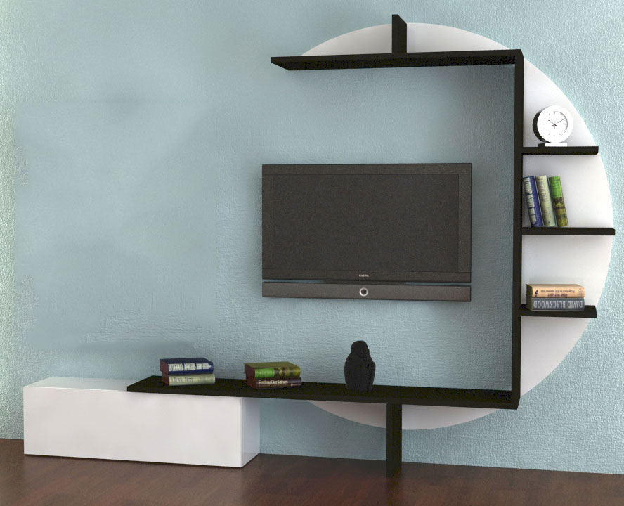 etagere murale pour tv id es de d coration int rieure french decor. Black Bedroom Furniture Sets. Home Design Ideas