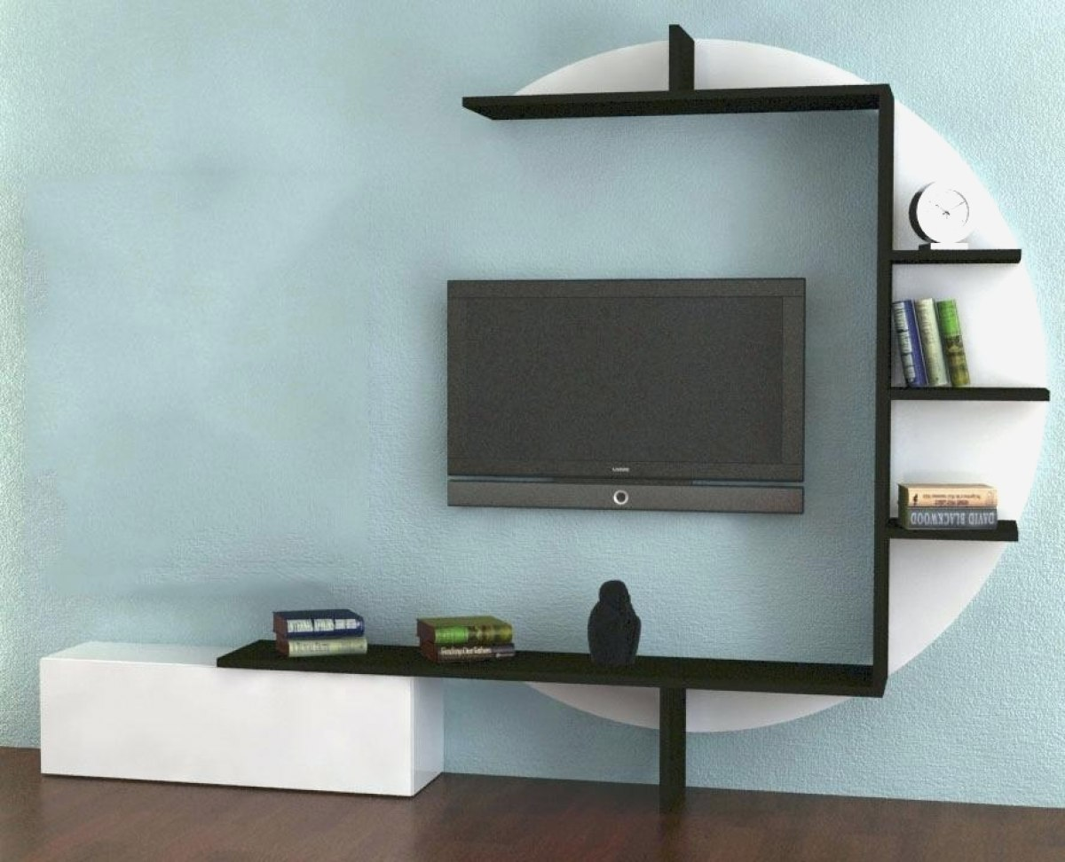 etagere murale pour tv id es de d coration int rieure. Black Bedroom Furniture Sets. Home Design Ideas