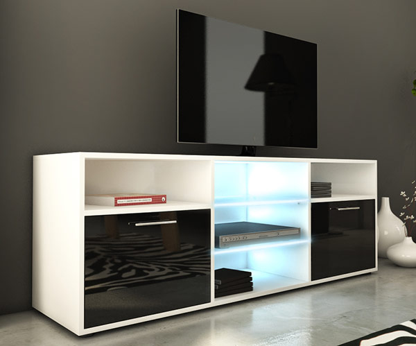 meuble tele haut id es de d coration int rieure french decor. Black Bedroom Furniture Sets. Home Design Ideas