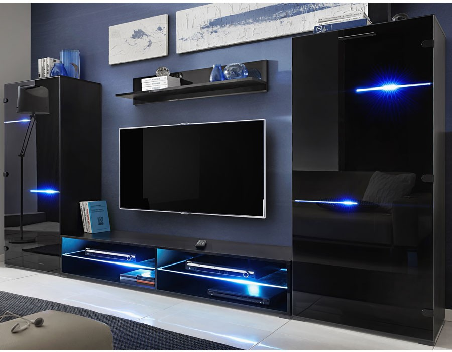 meuble tv led design id es de d coration int rieure french decor. Black Bedroom Furniture Sets. Home Design Ideas