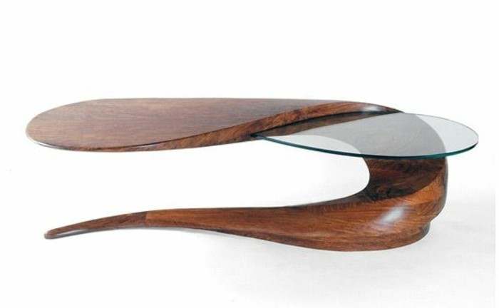 table basse en bois design