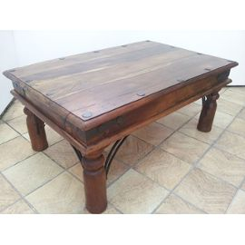 table basse indienne