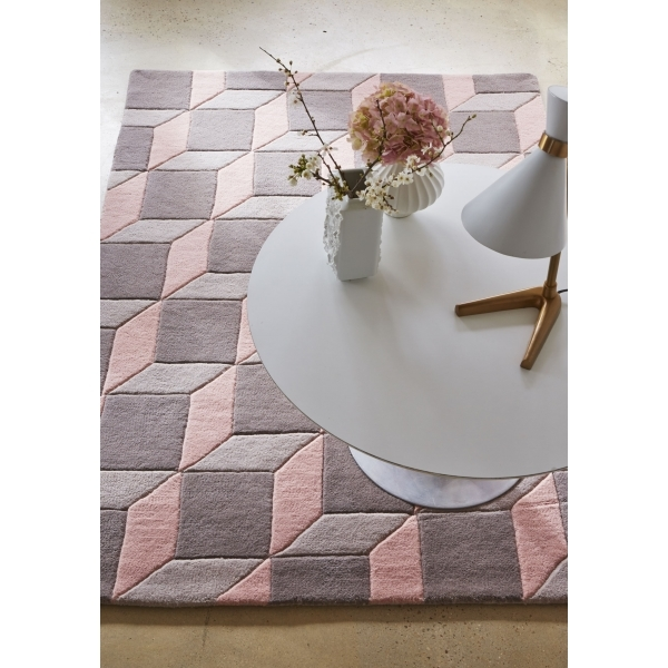 tapis rose salon