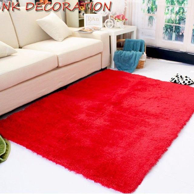 tapis rouge chambre