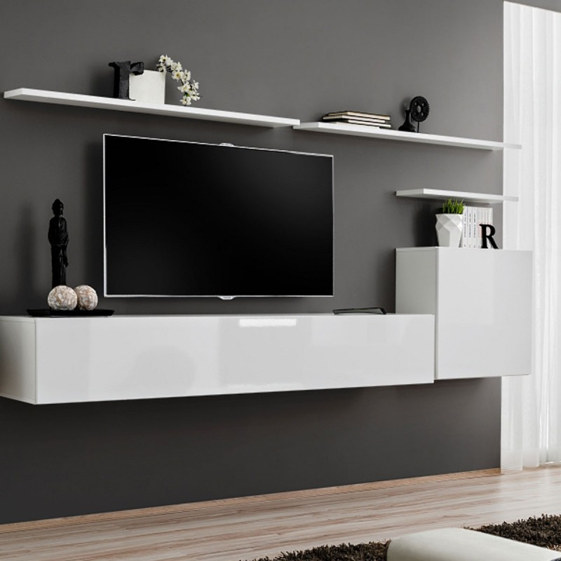 banc mural tv id es de d coration int rieure french decor. Black Bedroom Furniture Sets. Home Design Ideas