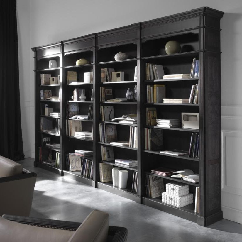 biblioth que murale id es de d coration int rieure french decor. Black Bedroom Furniture Sets. Home Design Ideas