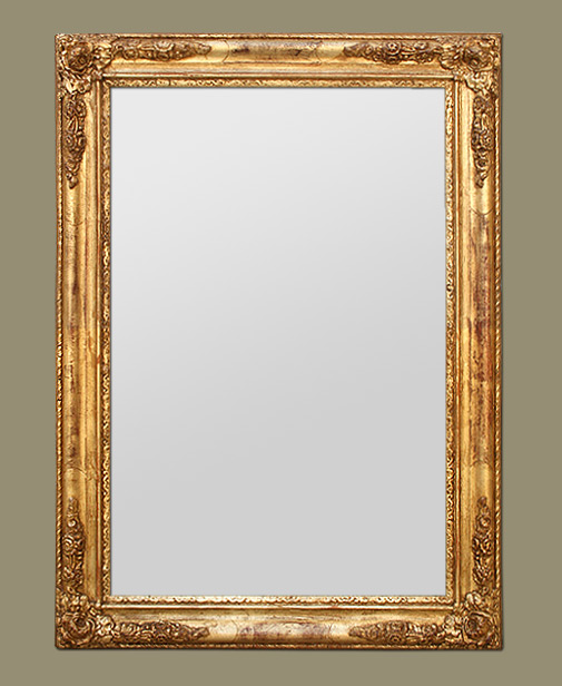 miroir contour dor id es de d coration int rieure french decor