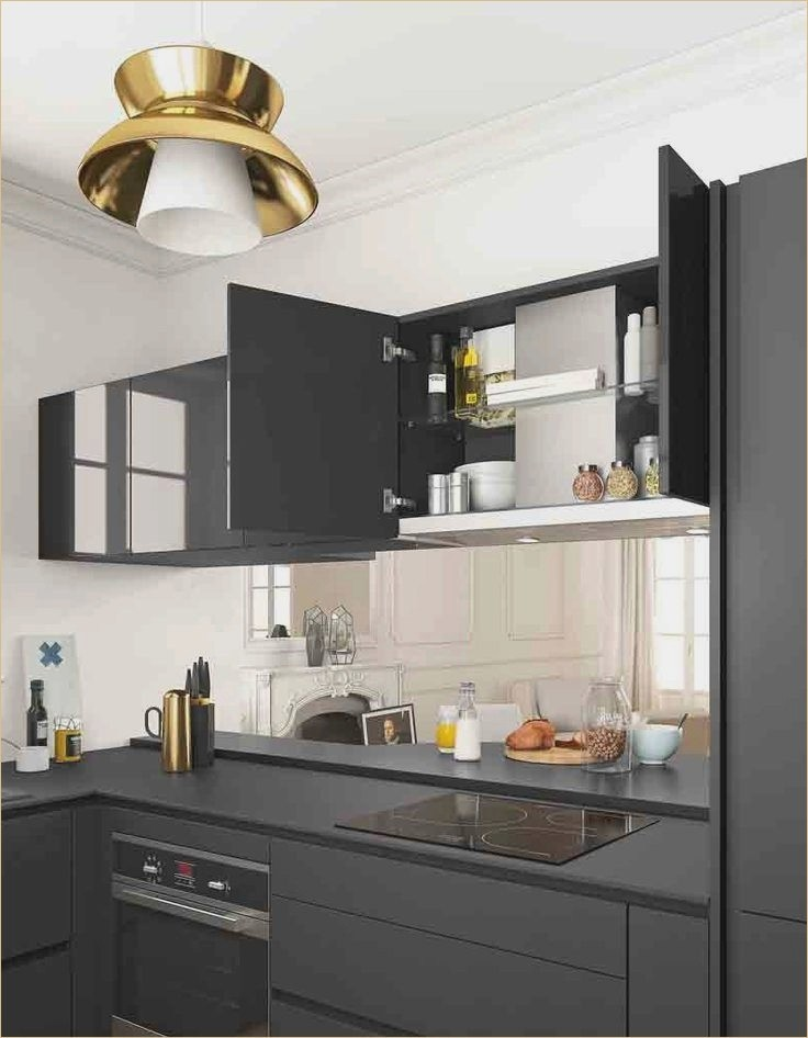 meuble de cuisine en kit 17 id es de d coration. Black Bedroom Furniture Sets. Home Design Ideas