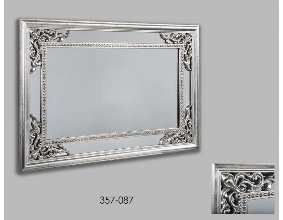 miroir baroque gris id es de d coration int rieure french decor
