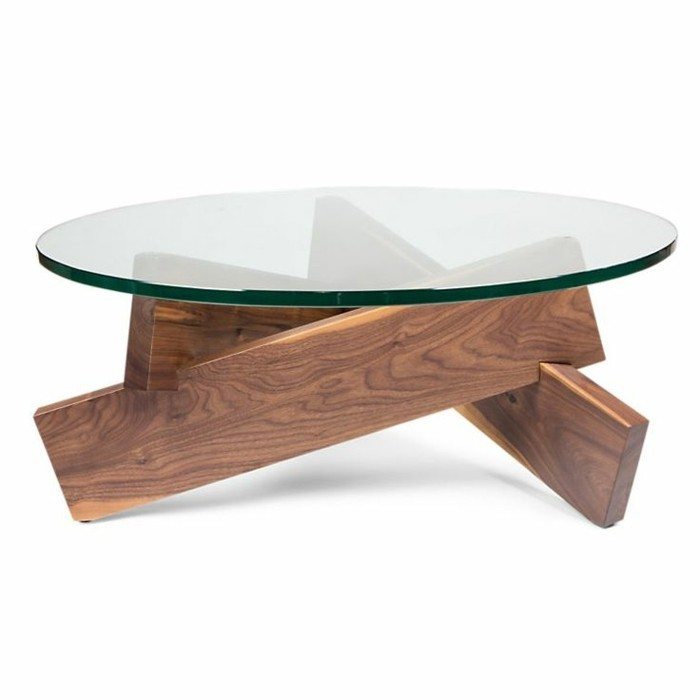 table de salon en bois