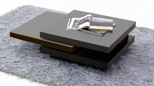 Best Salon Wenge Et Gris Contemporary - House Design - marcomilone.com