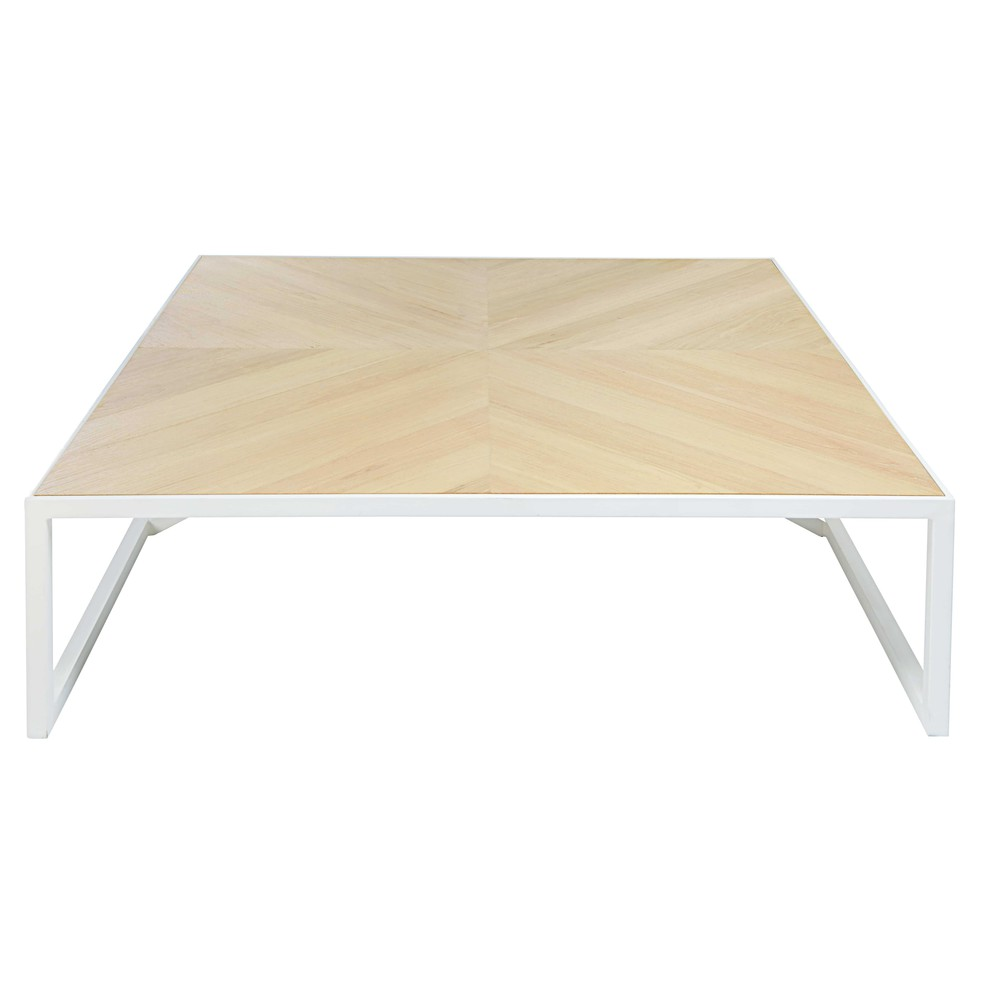 Table Basse Metal Blanc.Table Basse Metal Blanc Idees De Decoration Interieure