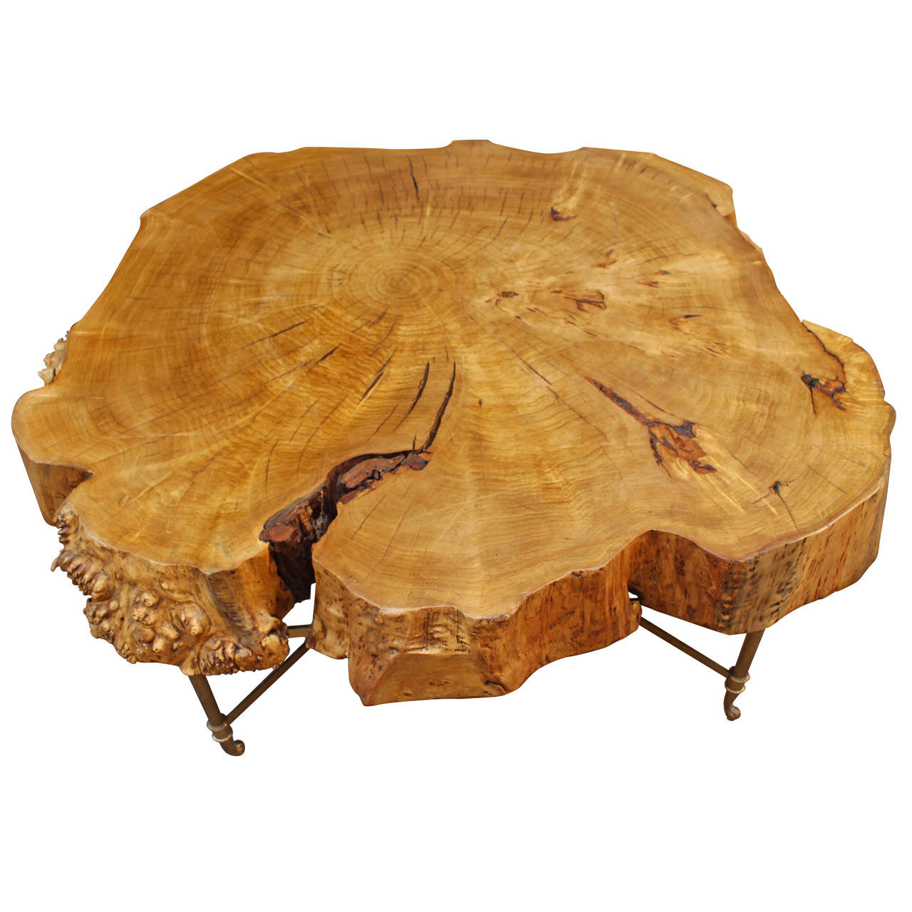 Table Basse Ronde Bois Massif 7 Idees De Decoration