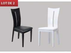Chaise De Salle A Manger Design Blanche Idees De Decoration