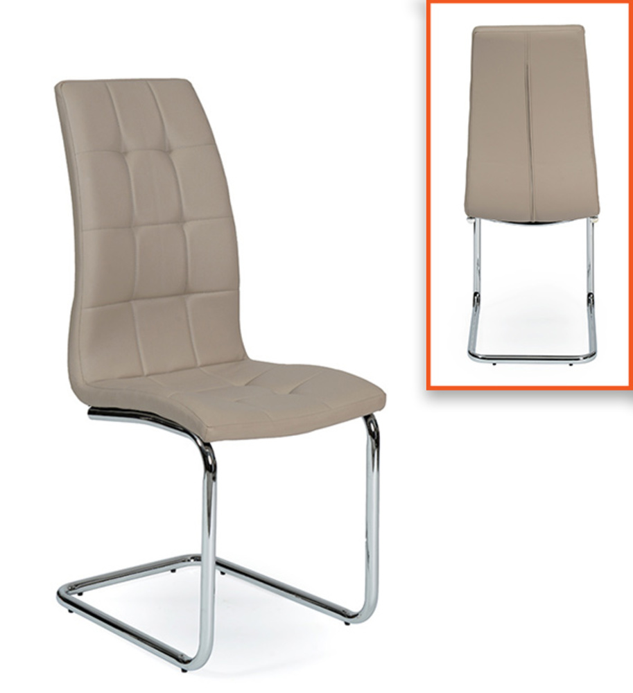 Chaise Salle A Manger Cuir Taupe Idees De Decoration Interieure