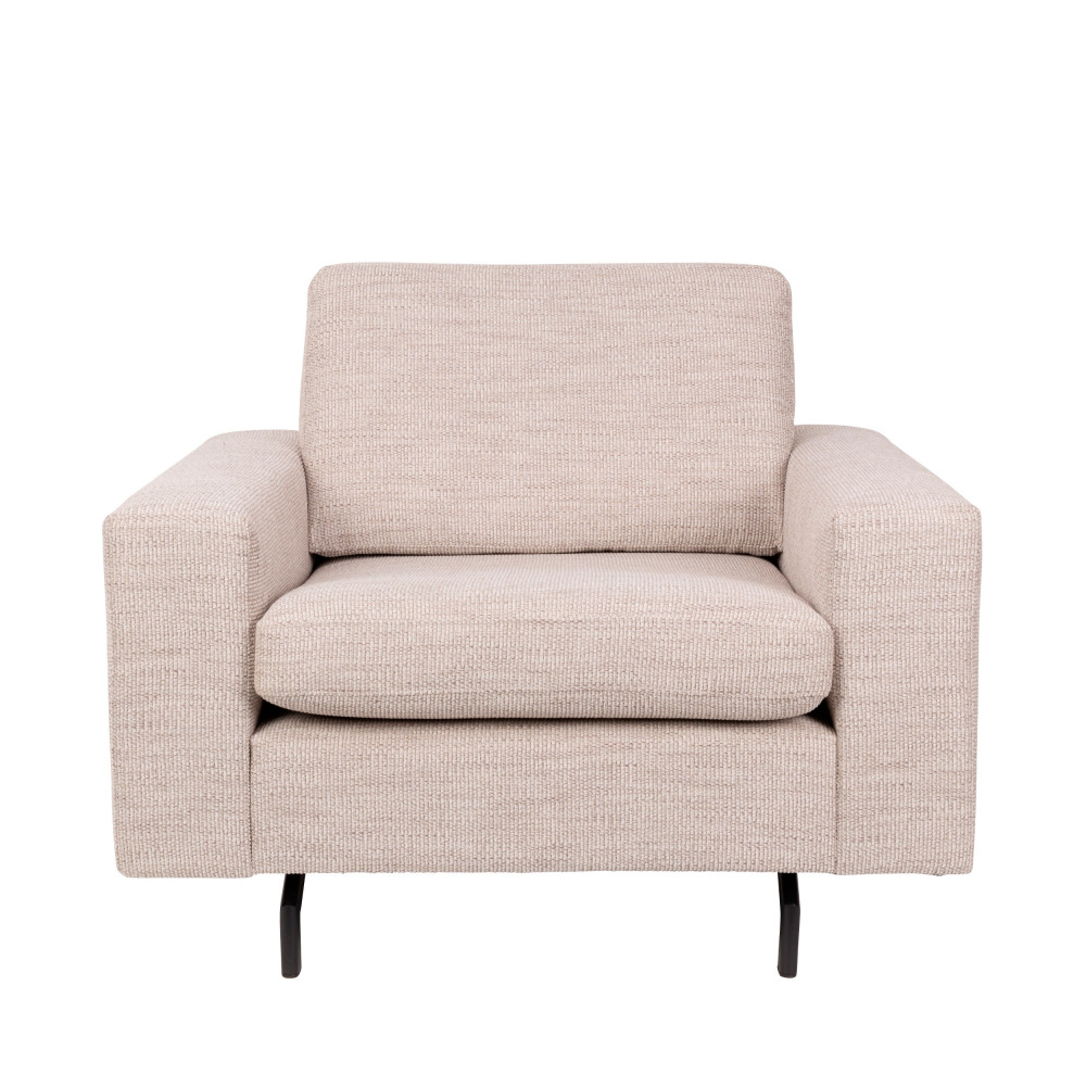 Fauteuil design beige idees de decoration interieure for Fauteuil design beige