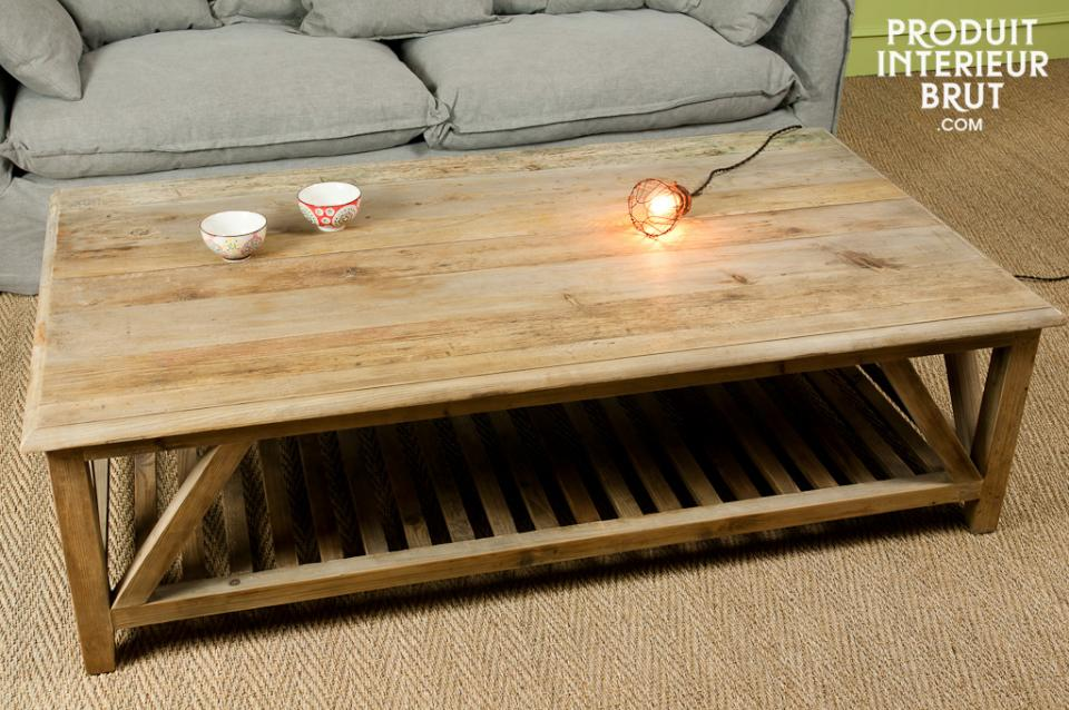 Grande Table Basse Carree