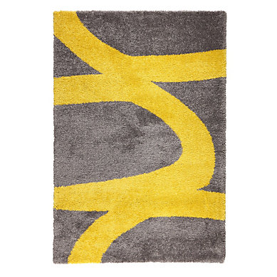 Tapis Gris Et Jaune Idees De Decoration Interieure French Decor