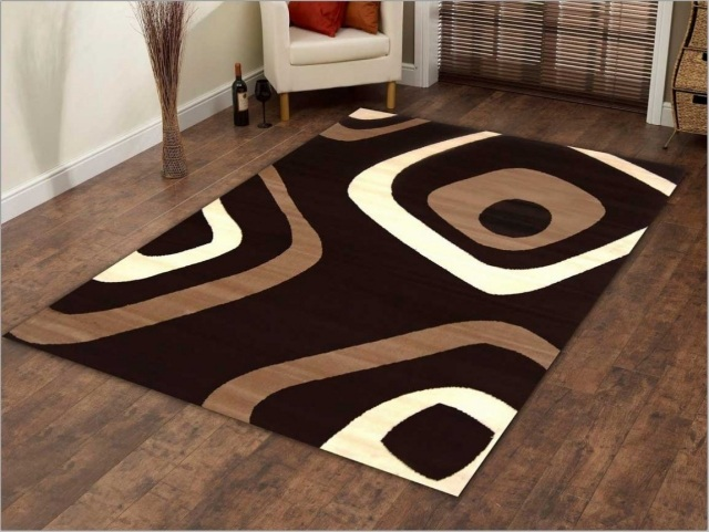 Emejing Tapis Marron Et Blanc Contemporary - House Design ...