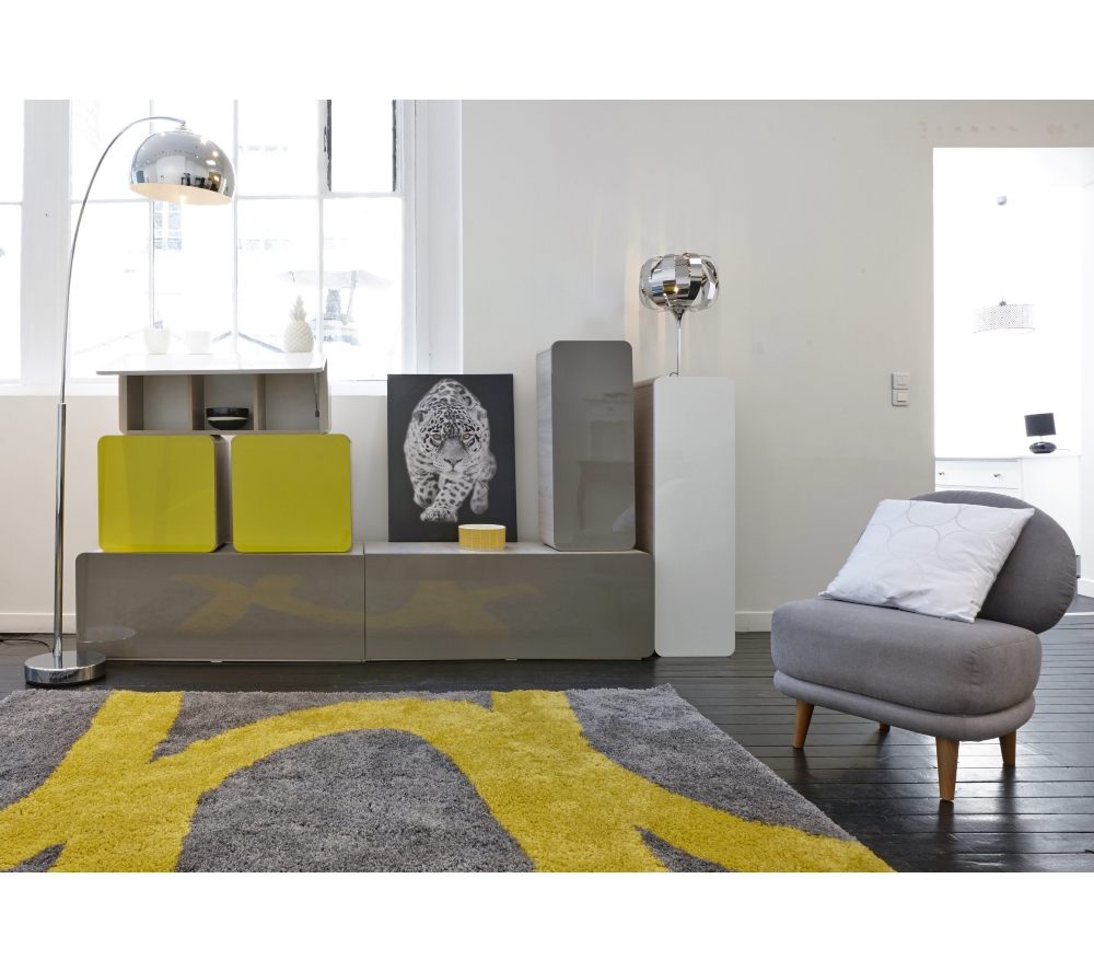 tapis salon jaune id es de d coration int rieure. Black Bedroom Furniture Sets. Home Design Ideas