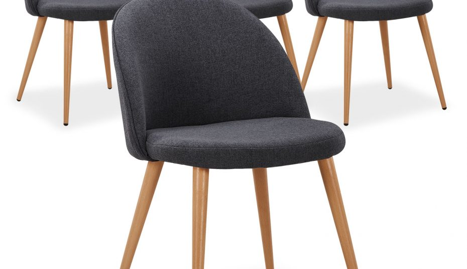Chaise Salle A Manger Gris Anthracite