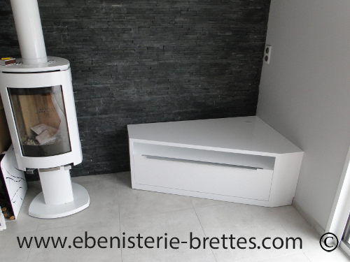 Meuble D Angle Tv Moderne Idees De Decoration Interieure French