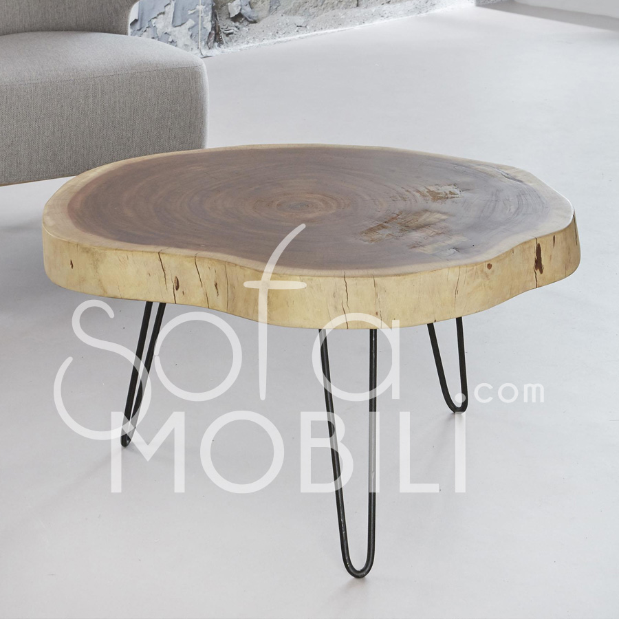 Table Basse Bois Brut 19 Idees De Decoration Interieure