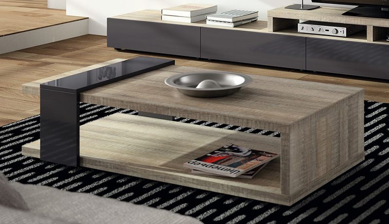 Emejing Mobilier Laque Contemporain Table Basse Gallery - House ...