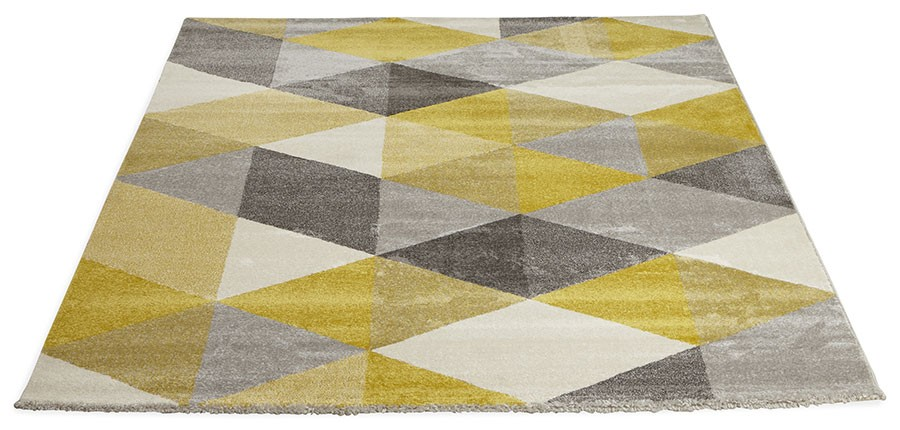 Tapis Jaune Et Gris Idees De Decoration Interieure French Decor