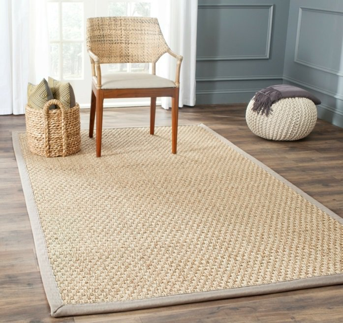 tapis jonc de mer id es de d coration int rieure french decor