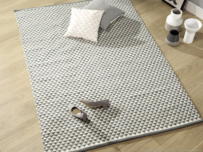 Tapis Tisse Plat Coton Idees De Decoration Interieure French Decor