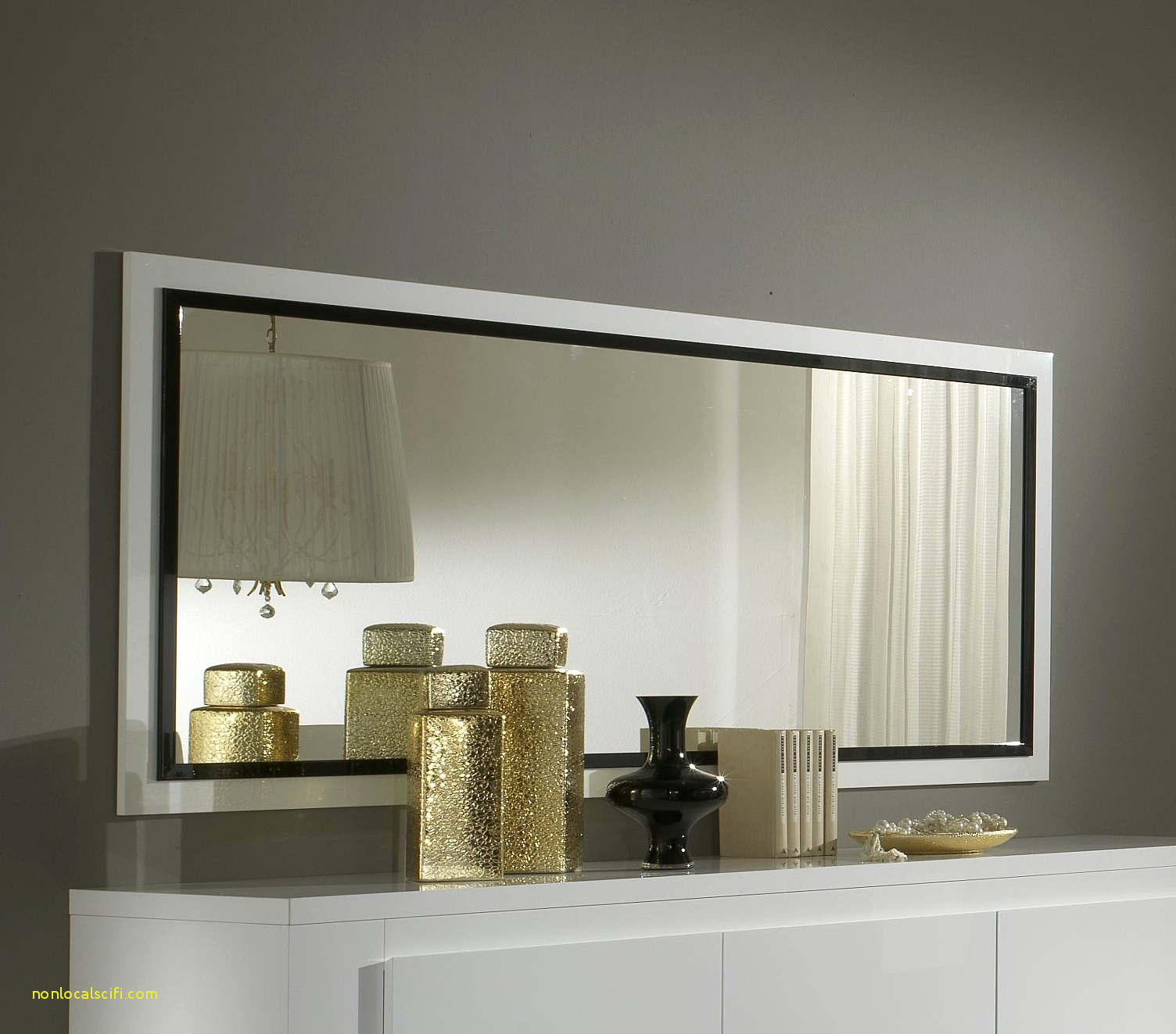 grand miroir salon