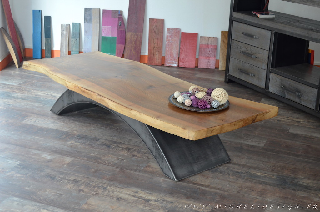 table salon en bois